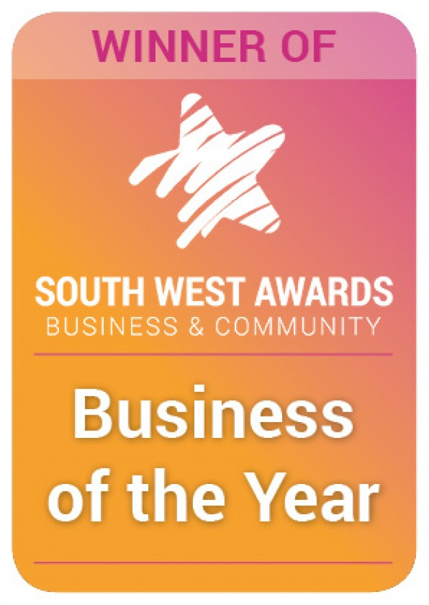 WINNER South West Business of the Year 2019